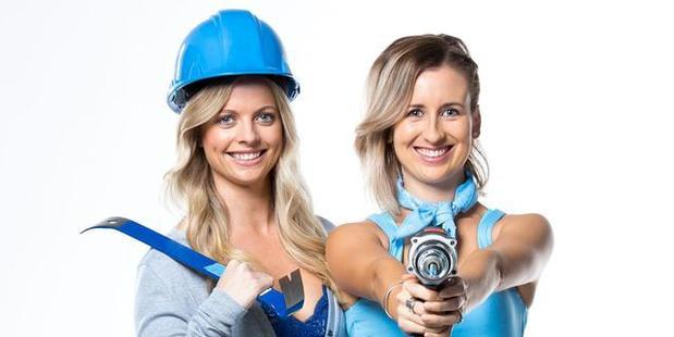 Emma Diamond and Courtney MacKay from the last season of The Block. Three is working on a new reality show about home ownership.