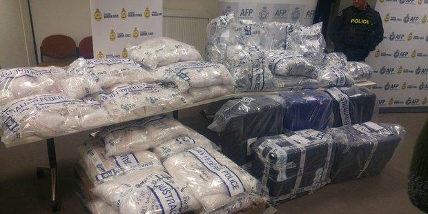 Australian police seize $898m haul of ice