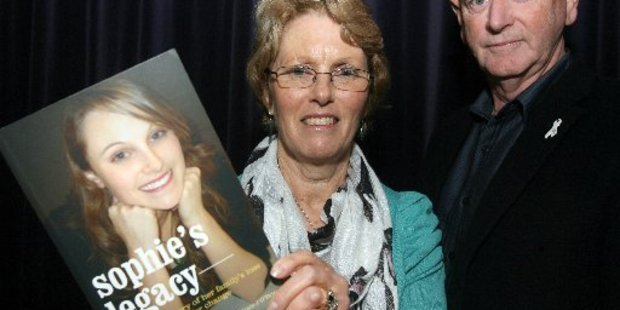 EDUCATION: Lesley Elliott and Bill O'Brien travel the country raising awareness of domestic violence. PHOTO: SUPPLIED