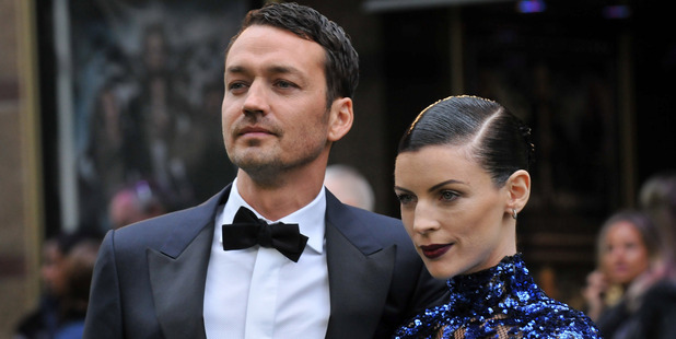 Director Rupert Sanders and Liberty Ross. Photo / Getty