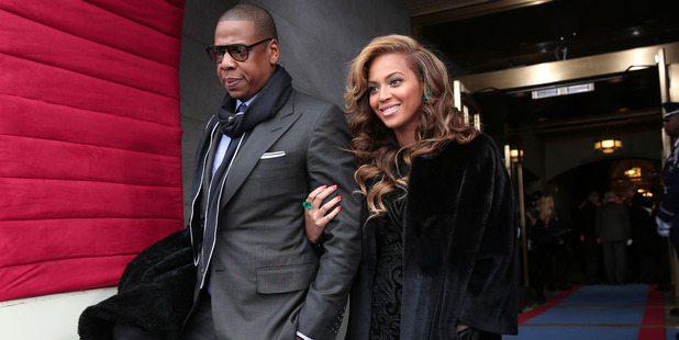 Jay-Z and Beyonce. Photo / Getty