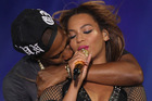 Beyonce and Jay-Z performing together. Photo / Getty