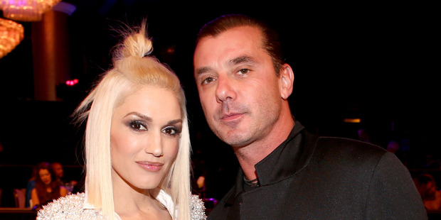 Gwen Stefani and Gavin Rossdale. Photo / Getty Images
