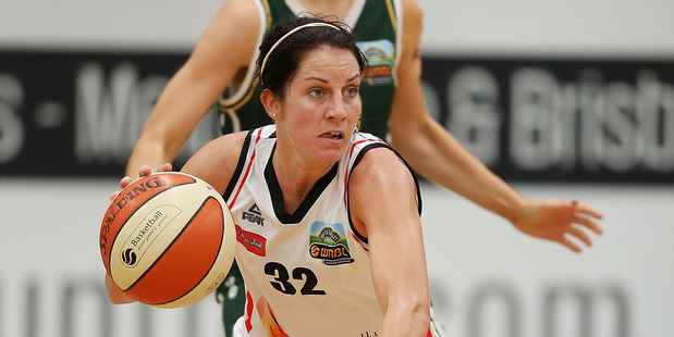 Micaela Cocks during the WNBL match between the Dandenong and Townsville. Photo / Getty Images