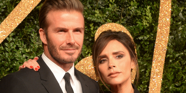 David and Victoria Beckham. Photo / Getty Images