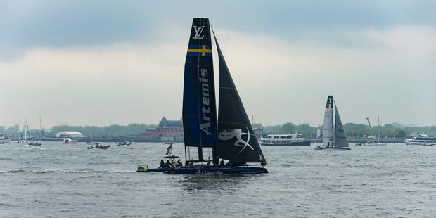 Sweden yacht Artemis. Photo / Getty