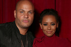 Stephen Belafonte and Mel B together in California in 2016. The pair have separated amid claims of abuse. Photo/Getty