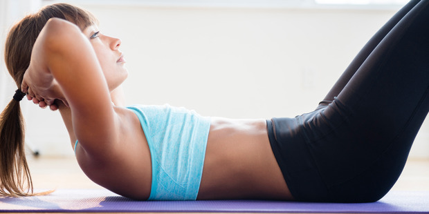 Lower abdominal muscles need to be reactivated in order to achieve great posture. Photo / Getty