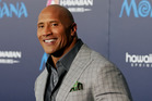 Dwayne Johnson likes the bald look now. Photo / Getty