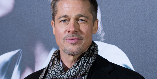 Brad Pitt in Madrid for the premiere of Allied in 2016. Photo/Getty
