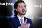 Shia LaBeouf's new film Man Down only sold one ticket during its opening weekend in the UK. Photo / Getty