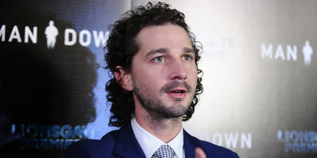 Loading Shia LaBeouf's new film Man Down only sold one ticket during its opening weekend in the UK. Photo / Getty