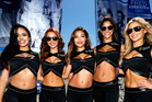 Monster Energy Girls pose prior to the 59th Annual DAYTONA 500. Photo / Getty