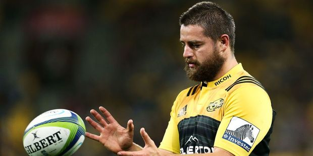 Dane Coles of the Hurricanes. Photo / Getty