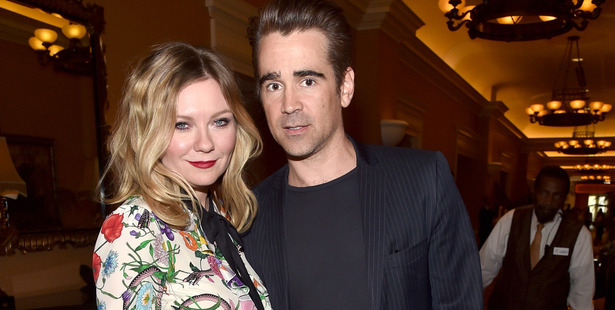 Actors Kirsten Dunst and Colin Farrell at CinemaCon 2017. Photo / Getty