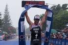 Richard Murray wins again. Photo / Scott Taylor / ITU