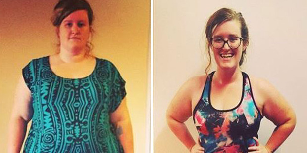 Rachel has documented her incredible weight loss effort through the Work It Out 100 challenge. Photo / Rachel Bache, Instagram