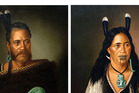 Paintings stolen from the International Art Centre in Parnell in the early hours on Saturday. Photo/NZ Police