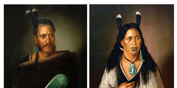 Loading Paintings stolen from the International Art Centre in Parnell in the early hours on Saturday. Photo/NZ Police