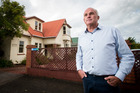 Peter Clark is opposed to a hotel development planned for the corner of Elizabeth St and Dominion Rd in Mt Eden. Picture / Jason Oxenham