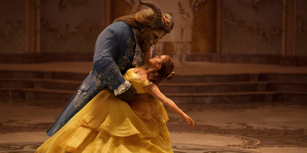 Loading Emma Watson stars as Belle and Dan Stevens as the Beast in Disney's Beauty and the Beast. Photo / Supplied