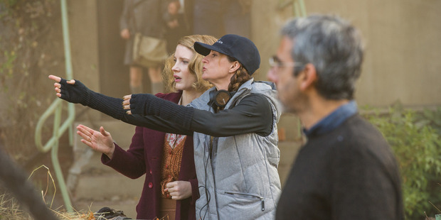 Loading Niki Caro (centre) says it required a degree of confidence to base The Zookeeper's Wife around Jessica Chastain's character Antonina Zabinski. Photo / Anne Marie Fox, Focus Features