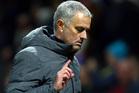 United manager Jose Mourinho. Photo / AP