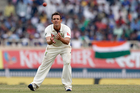 Australia's Steve O'Keefe prepares to bowl during the fourth day of their third test cricket match against India in Ranchi, India, Sunday, March 19, 2017. (AP Photo/Aijaz Rahi)