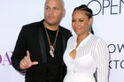 Stephen Belafonte and Melanie Brown. Photo / Getty Images