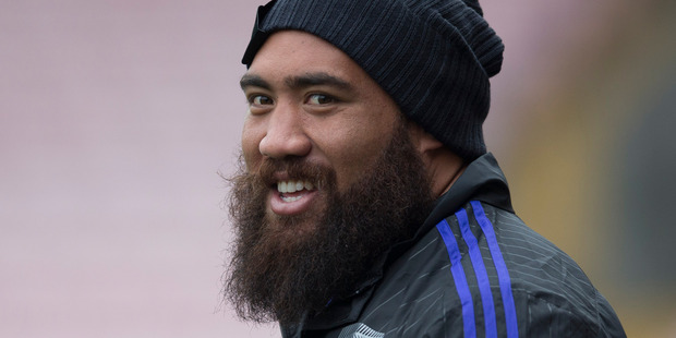 Blues prop Charlie Faumuina and his wife Rachelle have welcomed a new baby boy. Photo/Brett Phibbs