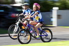 A new NZTA report says allowing children to cycle on footpaths has merit. Photo / Jason Oxenham