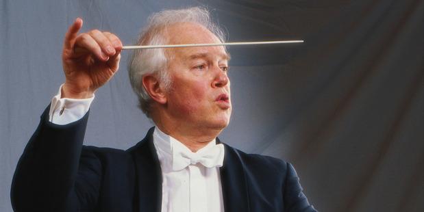 Conductor Edo de Waart.