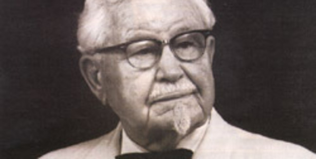 Colonel Sanders served just three months in the US army and got his honorary title bestowed upon him years later. Photo / File