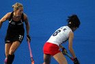 Stacey Michelsen injured a knee in Christchurch but the Black Sticks coaching stable decided to rest and assess her conditon after an MRI scan. PHOTO/FILE