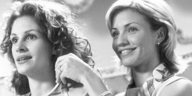 Julia Roberts and Cameron Diaz in My Best Friend's Wedding. Photo / Supplied