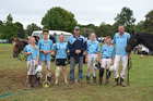 The young Northland team which took out the Division 3 title at the national polocrosse championships in Kaikohe last weekend. From left, Kayla Murray (from the Kaikohe PC), Tawa Holyoake (Whangarei), Kyla Zielinski (Kaikohe), Rick Murray (Whangarei, coach), Melissa Marlow (Pouto), Ty Murray (Kaikohe) and Nigel Blackwood (Poutu).