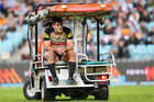 Northlander Sam McKendry of the Penrith Panthers faces more time on the sideline with a second knee reconstruction in a year. Photo/Getty Images