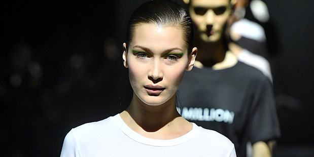 Fashion model Bella Hadid has revealed the pride she takes in her religion. Photo / Getty Images