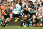 The Crusaders beat the Waratahs 41-22 in Sydney. Photo / Getty Images