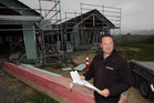 Hawke's Bay president of the Master Builders Association Scott Taylor says business is booming.  Photo/Paul Taylor