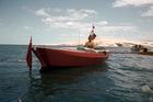 Colin Quincey in his transtasman rowing boat Tasman Trespasser. Photo / Supplied.