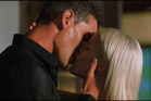 Claudia and Zac had the first kiss of the season. Photo / Three