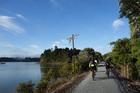Near Opua on the Twin Coast Cycle trail. Photo / Phil Taylor