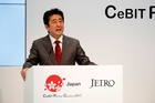 Japanese Prime Minister Shinzo Abe. Photo / Supplied