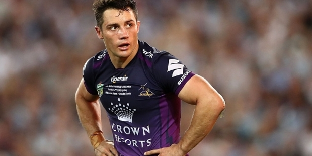 Canterbury and Parramatta loom as the early leaders in the race for the signature of Storm playmaker Cooper Cronk. Photo / Getty Images