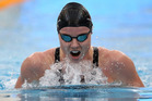 Helena Gasson during her qualifying swim in the 200m individual medley. Photo / BW Media