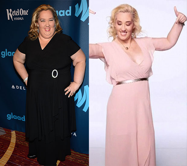 Mama June's amazing transformation is seen in the teaser. Photo / Getty Images, WETV