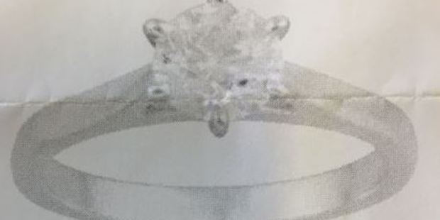 The stolen ring. Photo / NZ Police