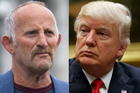 Gareth Morgan and Donald Trump share a tendency to be short and sharp on Twitter. Photo/File