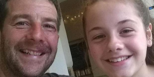 Craig Darwell, 46, and his daughter Millie, 13. Photo / Facebook